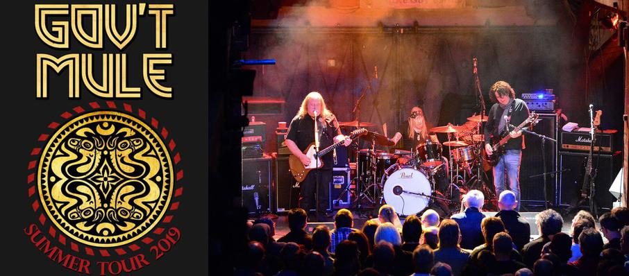 Govt Mule at Thalia Mara Hall