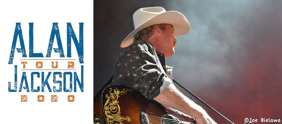 Alan Jackson at Brandon Amphitheater