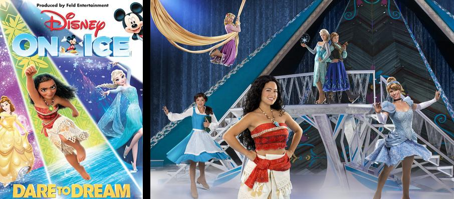 Disney On Ice: Dare To Dream at Mississippi Coliseum