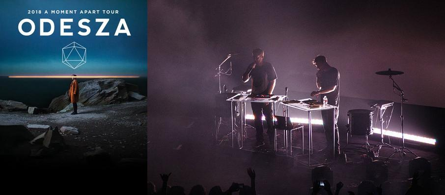 Odesza at Brandon Amphitheater