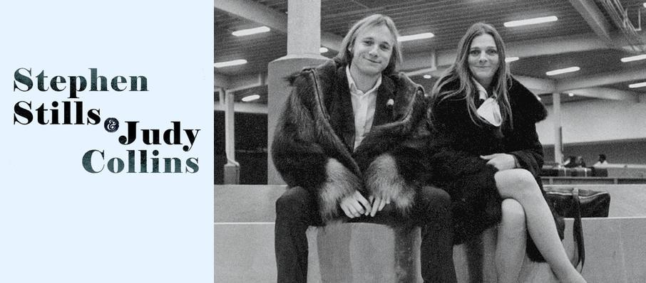 Stephen Stills and Judy Collins at Thalia Mara Hall