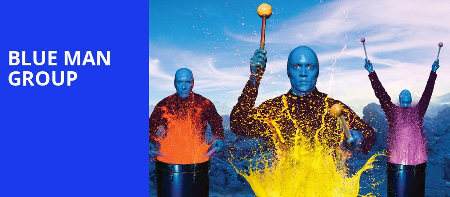 Blue Man Group, Thalia Mara Hall, Jackson